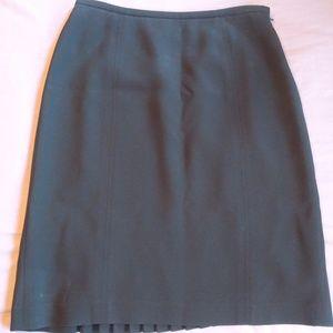Pleated back A-Line Skirt